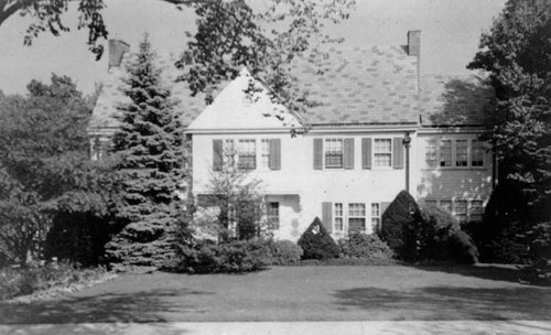 Stevens home on Westerly Terrace.